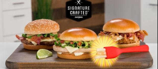 """McDonald's is upping its game with a new line of sandwiches and the """"Frork."""" / Photo via McDonald's, YouTube screeshot"""