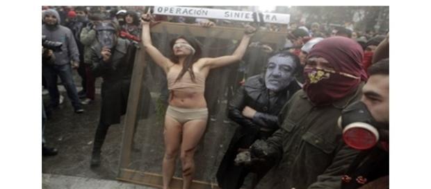 Movimento chileno de opressão à mulher