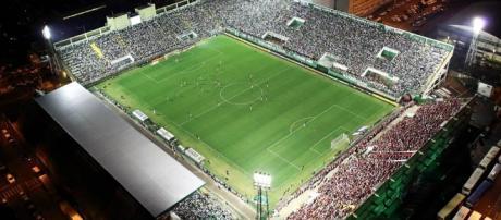 Arena Condá, palco do primeiro jogo da Recopa