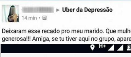 Essa mulher fez um elogio para um motorista casado do Uber