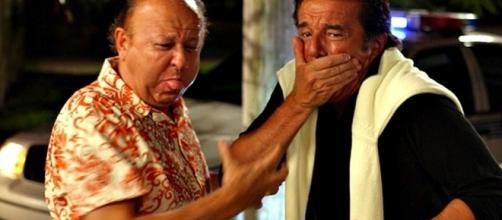 Boldi e De Sica ai tempi dei loro insuperabili cinepanettoni