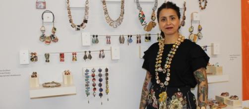 Designer Tara Locklear/photo via Tracey Fitzpatrick/MAD Exhibit