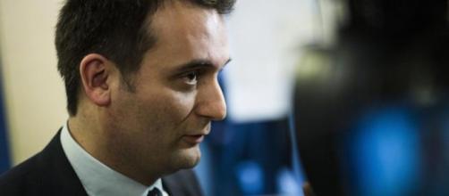 Florian Philippot privé de tribune à Sciences po - Œil sur le front - liberation.fr