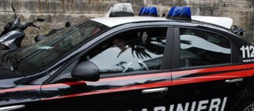 Foto di repertorio dei carabinieri in azione.