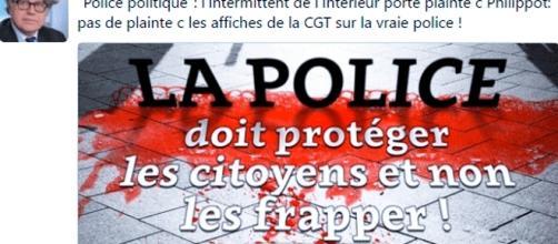 Gilbert Collard avait porté plainte contre la CGT dénonçant les violences policières.