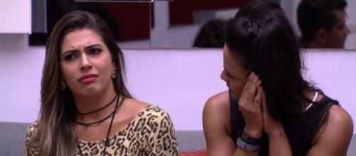 Ieda diz que Marcos sempre quis ficar com Vivian e não com Emilly (Foto: Reprodução/TV Globo)
