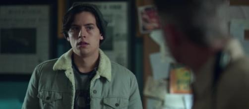 Jughead (Cole Sprouse) in 'Riverdale'/Photo via screencap, 'Riverdale'/The CW