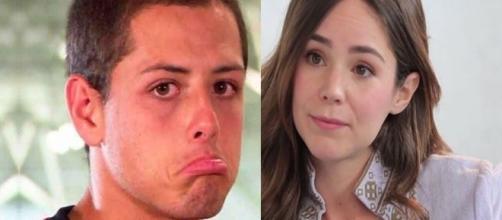 La baja de rendimiento del Chicharito coincide con rompiniento con Camila Sodi
