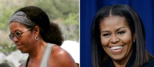 Michelle Obama rocks her natural hair - Photo: Blasting News Library - com.au