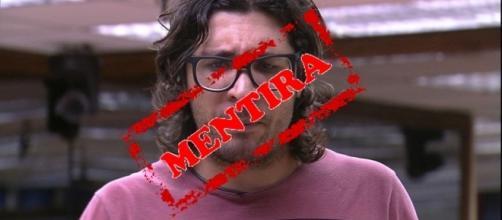 Notícia Falsa sobre polícia procurar Ilmar no BBB 17 foi desmentida pela TV Globo (Foto: Reprodução)
