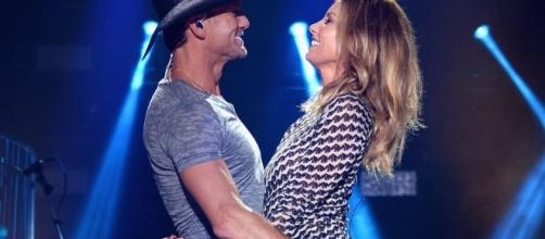"Tim McGraw and Faith Hill dazzle with debut of ""Speak to a Girl"" at 2017 ACM awards. - radio.com"