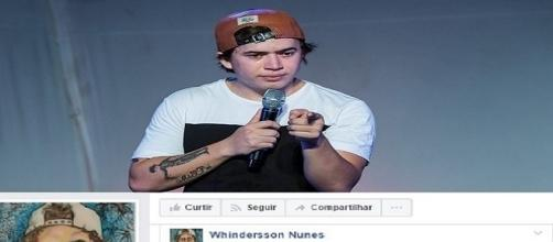Whindersson chorou muito após não conseguir fazer show em Teresina