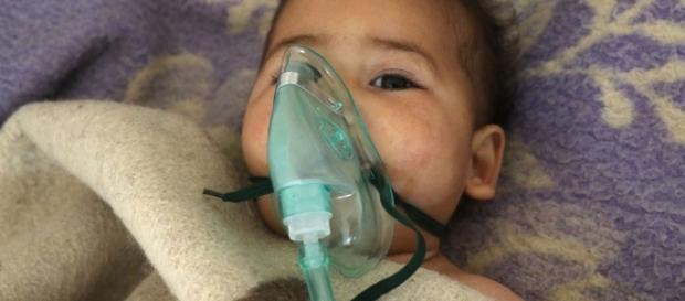Ataque de arma química na Síria