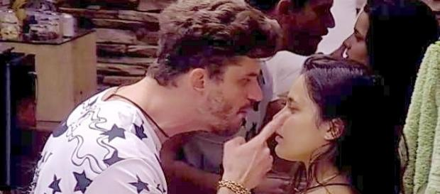 Emilly e Marcos, doc esta no paredão desta segunda no BBB 17