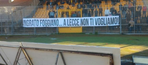 I tifosi che contestarono Padalino la settimana scorsa.