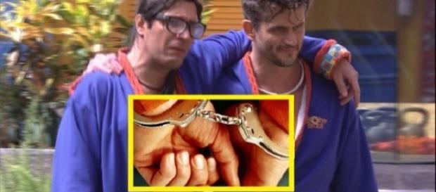 Marcos acusa Ilmar de dever pensão ao filho, e disse que polícia foi atrás do brother na casa do BBB17
