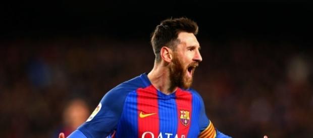 Messi é uma seta apontada à baliza adversária