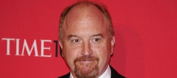 Source: Wikimedia David Shankbone. Louis CK weight gain noted in anti-Trump rant