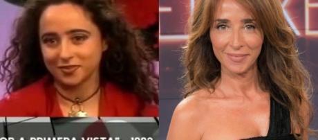 María Patiño - 50 famosos, antes y después de la cirugía ... - libertaddigital.com