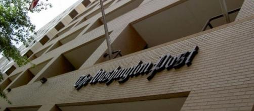 A photo of The Washington Post building (Commons - MorgueFiles.com)