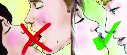 Aprender a beijar de maneira correta