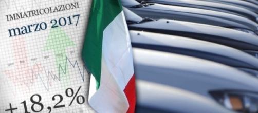 Grafico Mercato Auto Marzo 2017