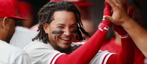 Hernandez leads off opener with HR, Phillies beat Reds 4-3 ... - lmtonline.com