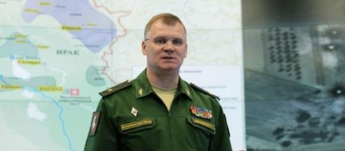 Igor Konashenkov, portavoce del ministero della difesa del Cremlino