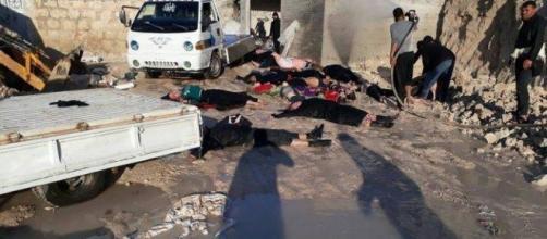"""""""Immagini sconvolgenti, l'umanità è morta oggi in Siria"""" dichiara Andrea Iacomini, portavoce di Unicef Italia."""