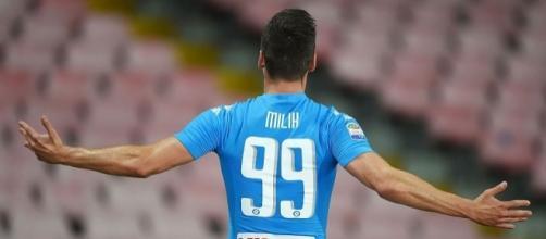 """Napoli, De Laurentiis: """"Milik è fantastico. Higuain di un altro ... - mediagol.it"""
