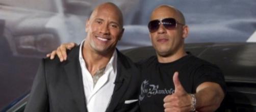 Vin Diesel x Dwayne: The Rock é preguiçoso e uma 'diva' no set