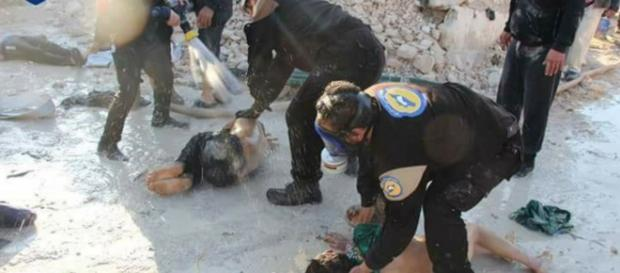Bombardeo químico en Siria deja mas de 100 fallecidos