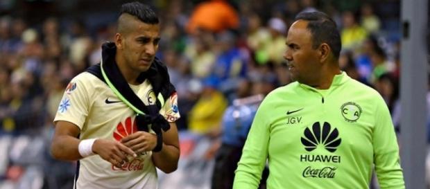 Nuevamente se lastimó el hombro Cecilio Domínguez
