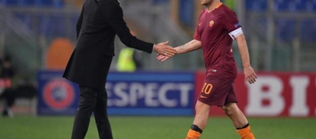 Spalletti infierisce, Totti non si chiama fuori: gli ultimi minuti di Roma-Lazio 3-2 e il paragone storico con Rivera