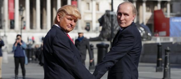 Trump and Putin Photo Credit: Taylor Herring