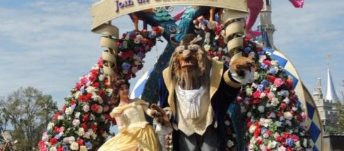 Belle and the Beast appear daily at Walt Disney World. (Photo by Barb Nefer)