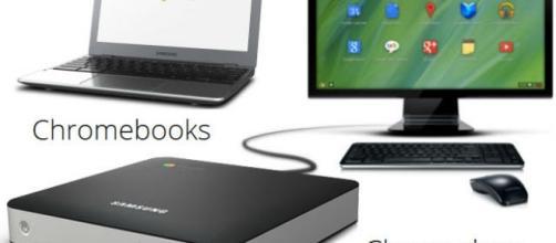 Crome box (Desktop) y Chromebook (laptop)