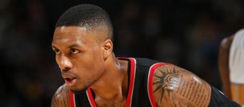 Damian Lillard and the Blazers host the Minnesota Timberwolves Thursday night. [Image via Blasting News image library/inquisitr.com]