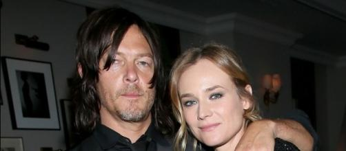 Diane Kruger & Norman Reedus Kissing Rumors Are Bogus | Diane ... - justjared.com