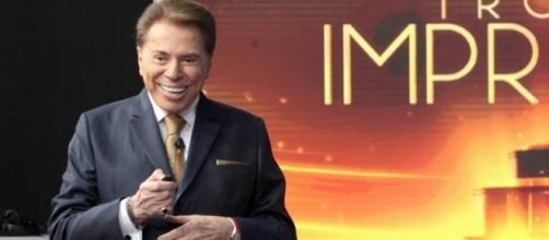 Durante a gravação do Troféu Imprensa, Silvio Santos falou de José Mayer (Foto: Reprodução)