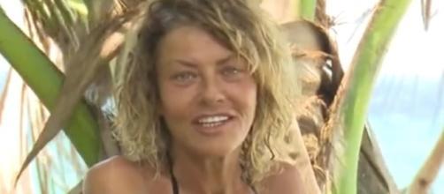 Eva Grimaldi all'Isola dei famosi