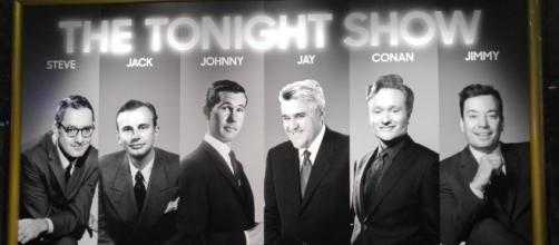 Universal pays homage to all of the Tonight Show hosts. (Photo by Barb Nefer)