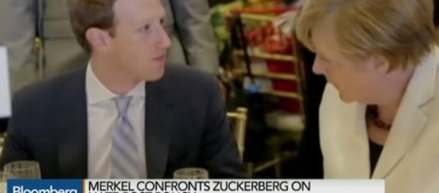Em 2015, Angela Merkel teve conversa particular com CEO do Facebook