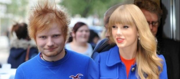 Did Ed Sheeran betray BFF Taylor Swift by making friends with Katy Perry? (via Blasting News library)