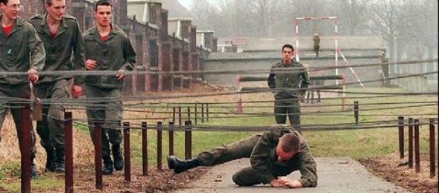 Le service militaire était encore obligatoire au début des années 90.