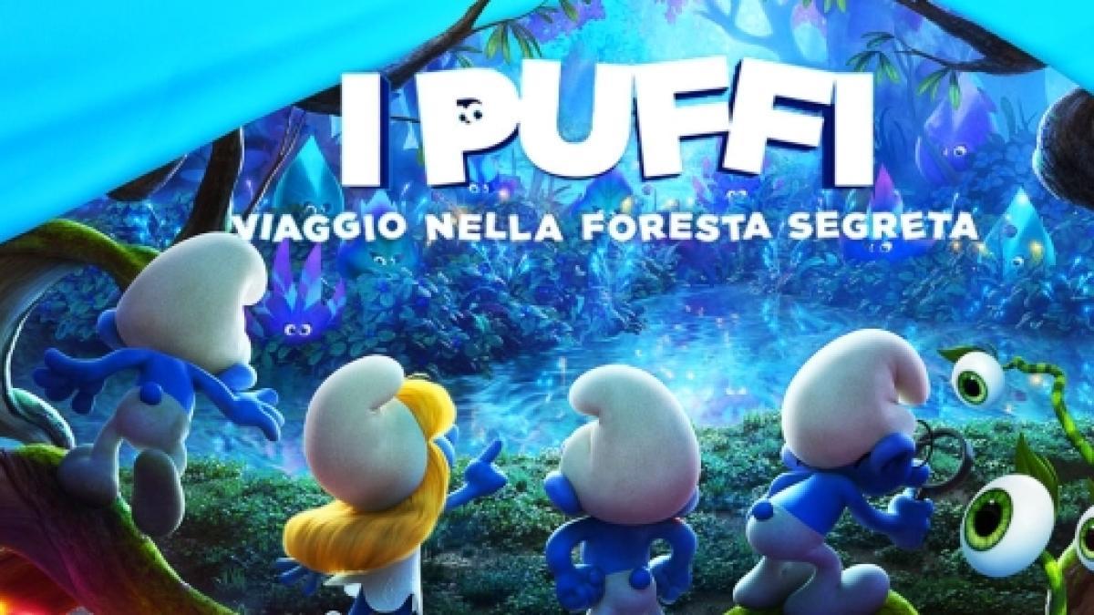 Debutta il nuovo cartone animato i puffi viaggio nella foresta