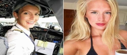 Essa piloto faz sucesso entre os famosos que a contratam para voos particulares.