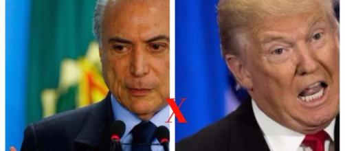 """Michel Temer e Donald Trump - Uma dupla do """"Terror"""""""
