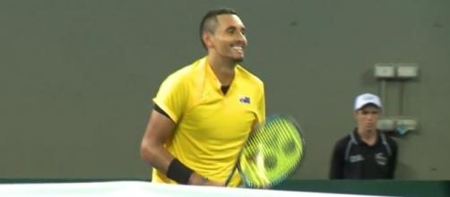 Nick Kyrgios via Davis Cup by BNP Paribas channel https://www.youtube.com/watch?v=TaCRhru1Xug
