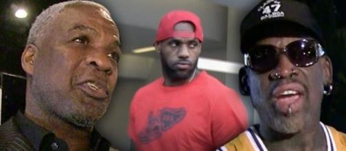 Oakley roasts Rodman for critiquing LeBron... - www.facebook.com/MJOAdmin